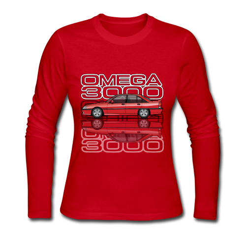 Blitz Omega A, Carlton 3000 GSi 24V Red - Women's Long Sleeve Jersey T-Shirt
