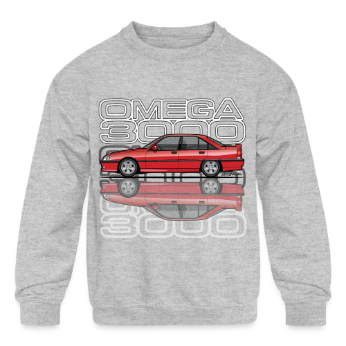 Blitz Omega A, Carlton 3000 GSi 24V Red - Kids' Crewneck Sweatshirt