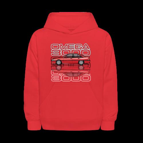 Blitz Omega A, Carlton 3000 GSi 24V Red - Kids' Hoodie