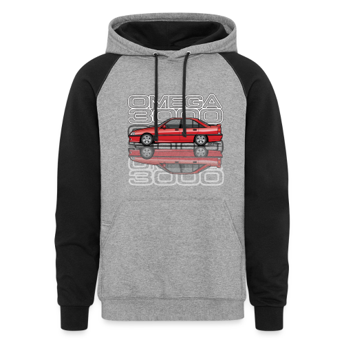 Blitz Omega A, Carlton 3000 GSi 24V Red - Colorblock Hoodie
