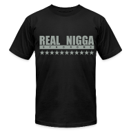 T-Shirts ~ Men's T-Shirt by American Apparel ~ Real Nigga Syndrome Tee