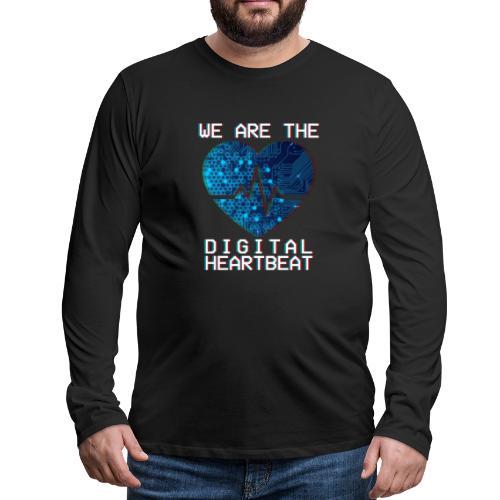 Digital Men's Long Sleeve T-Shirt - Men's Premium Long Sleeve T-Shirt