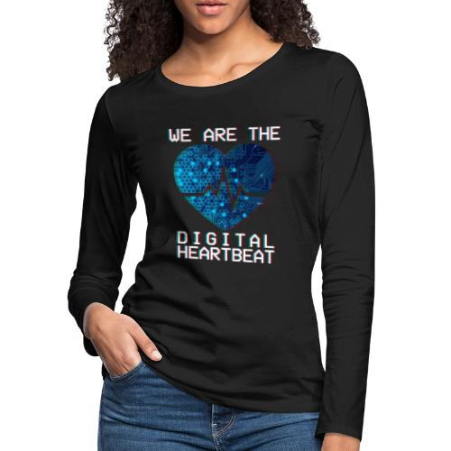 Digital Women's Long Sleeve T-Shirt - Women's Premium Long Sleeve T-Shirt