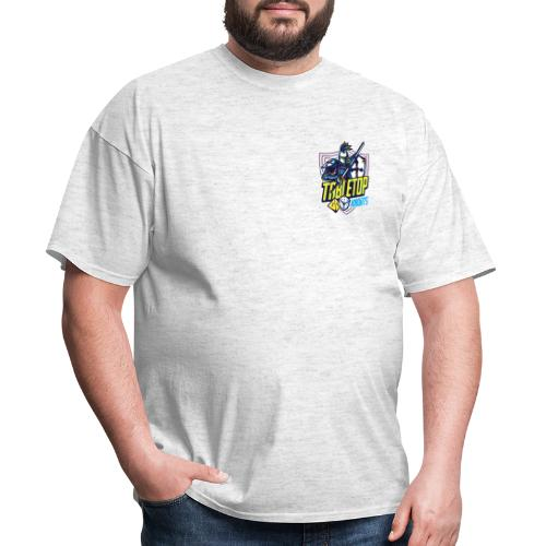 Tabletop Knights Men's T-Shirt (Small Logo) - Men's T-Shirt