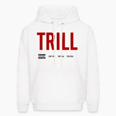 TRILL - Hooded Sweatshirt (Black)