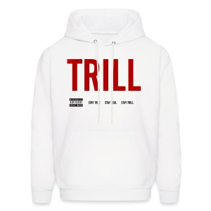TRILL - Hooded Sweatshirt (Black) - Men's Hoodie