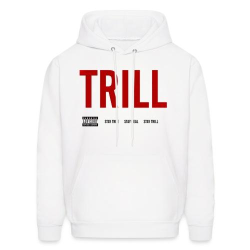TRILL - Hooded Sweatshirt (Black) - Men's Hoodie