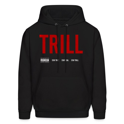 TRILL - Hooded Sweatshirt (White) - Men's Hoodie