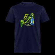 T-Shirts ~ Men's T-Shirt ~ Neon Slimer