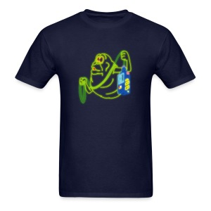 Neon Slimer - Men's T-Shirt