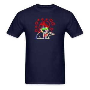 Neon Janine - Hearts - Men's T-Shirt