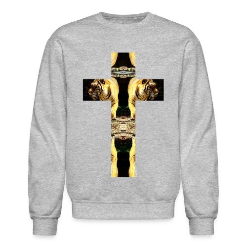 TIGER CRUCIFIX - Crewneck - Crewneck Sweatshirt