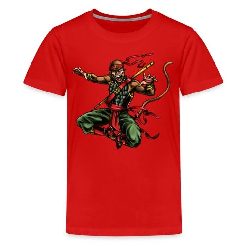 MONKEY WARRIOR - Kids' Premium T-Shirt