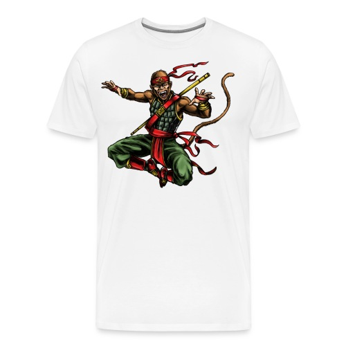 MONKEY WARRIOR - Men's Premium T-Shirt
