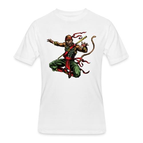 MONKEY WARRIOR - Men's 50/50 T-Shirt