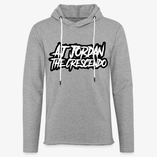 AJ Jordan The Crescendo LP Pullover Hoodie (Unisex) - Unisex Lightweight Terry Hoodie