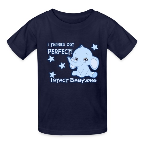 I turned out perfect! - Kids' T-Shirt