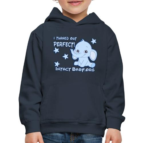 I turned out perfect! - Kids' Premium Hoodie