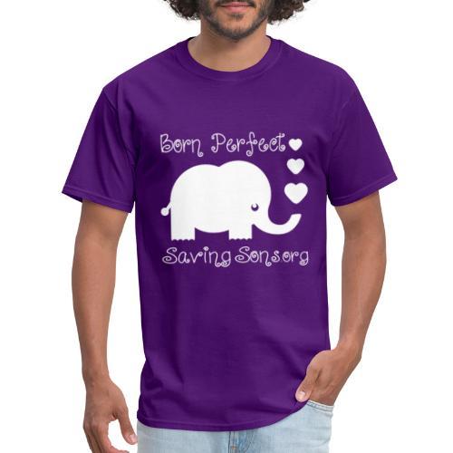 Born Perfect Elephant Love - Men's T-Shirt
