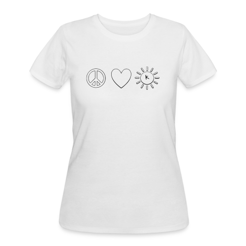 Kindness Symbol - Women's 50/50 T-Shirt