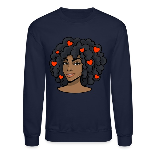 Love black women - Crewneck Sweatshirt
