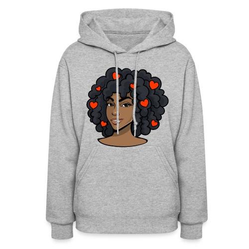 Love black women - Women's Hoodie