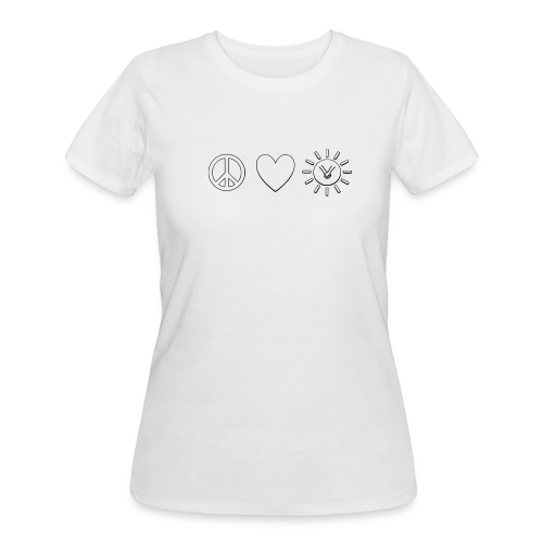 Int'l Kindness Symbol - Women's 50/50 T-Shirt