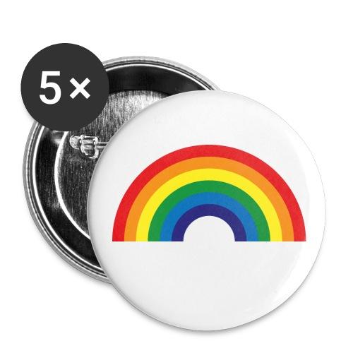 LBGT Pin - Buttons large 2.2'' (5-pack)
