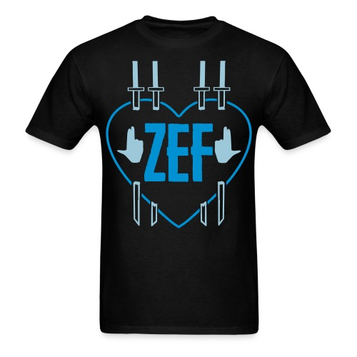 Zef Heart 5 - Men's T-Shirt