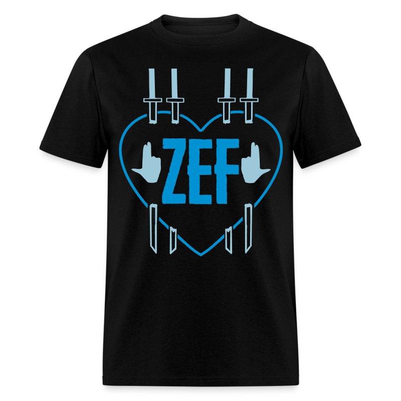 Zef Heart 5 - Men's T-Shirt