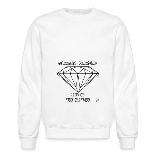 Diamondz ink Crewneck Sweatshirt - Crewneck Sweatshirt