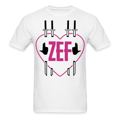 Zef Heart 6 - Men's T-Shirt