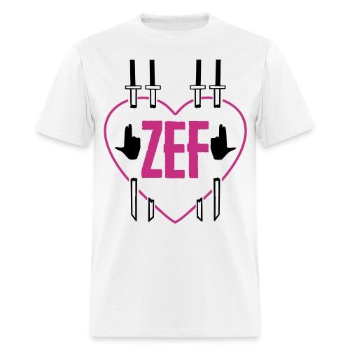 Zef Heart 6 - Men's T-Shirt