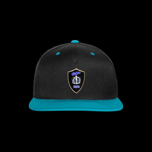 Biker King Snapback Baseball Hat - Snap-back Baseball Cap