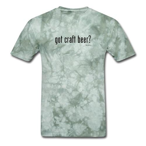 got craft beer? Men's T-Shirt - Men's T-Shirt