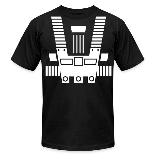 Lego Space Shirt - Blacktron Chestplate - Men's Fine Jersey T-Shirt