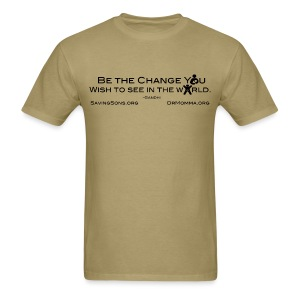 Be The Change w/ Sites - Men's T-Shirt