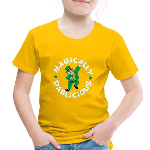 Magically Dablicious Dab Leprechaun Toddlers Premium T-shirt - Toddler Premium T-Shirt
