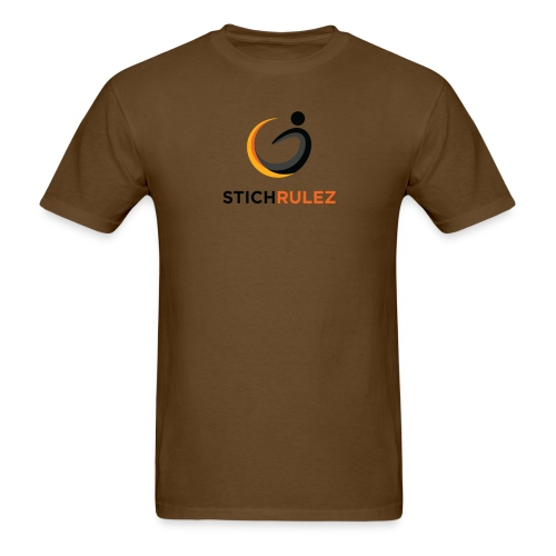 StichRulez Curve Ball - Men's T-Shirt