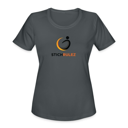 StichRulez Curve Ball - Women's Moisture Wicking Performance T-Shirt