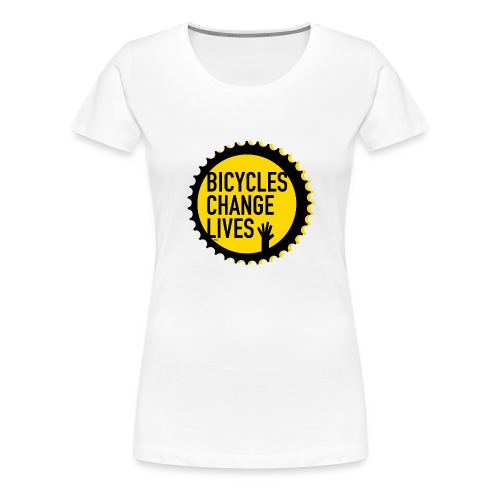BCL Yellow Cog Ladies - Women's Premium T-Shirt