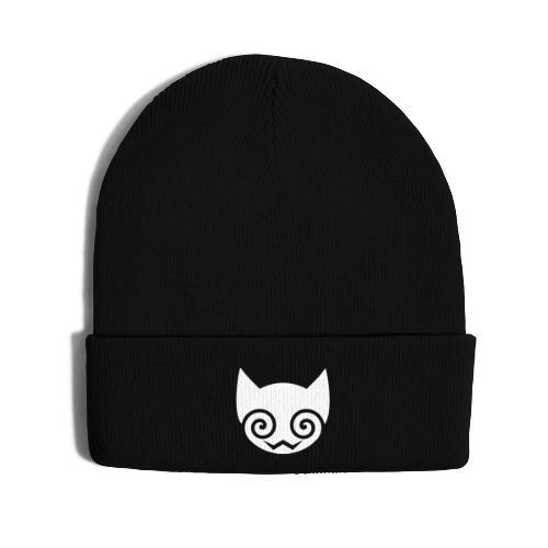 Logo, Beanie - Knit Cap with Cuff Print