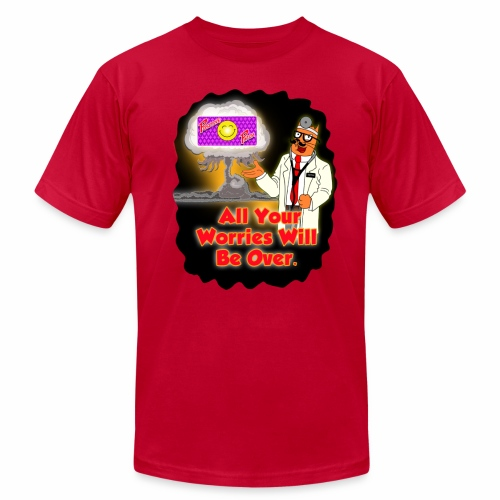 Positive Patch Nuke - Men's  Jersey T-Shirt
