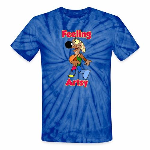 Feeling Artsy - Unisex Tie Dye T-Shirt