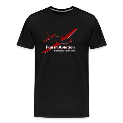 Fun in Aviation - Men's Premium T-Shirt
