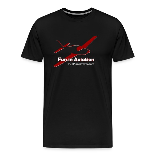 Fun in Aviation - Men's Premium T-Shirt