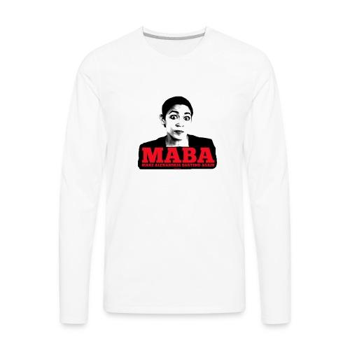 MAKE ALEXANDRIA BARTEND AGAIN - Men's Premium Long Sleeve T-Shirt