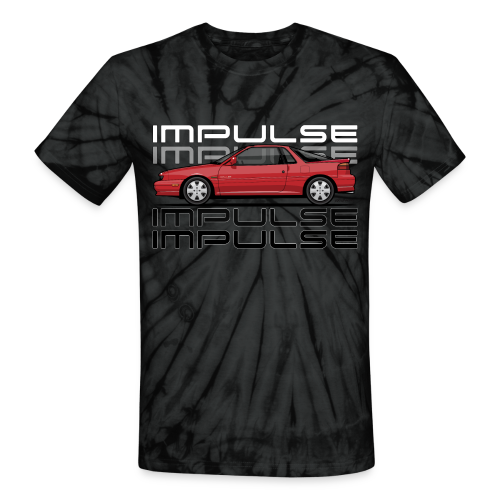 Usuzi Impulse RS Red - Unisex Tie Dye T-Shirt