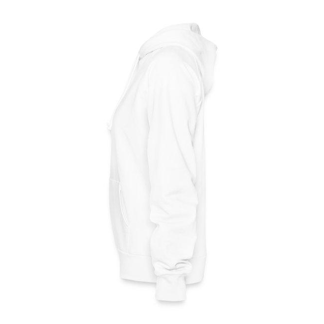 Women's Original White Hoodie (Sleeve)