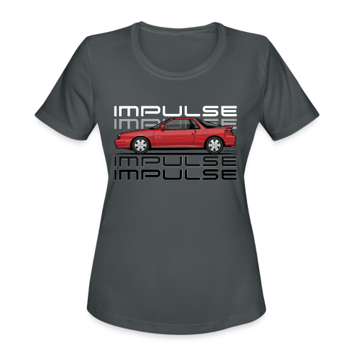 Usuzi Impulse RS Red - Women's Moisture Wicking Performance T-Shirt